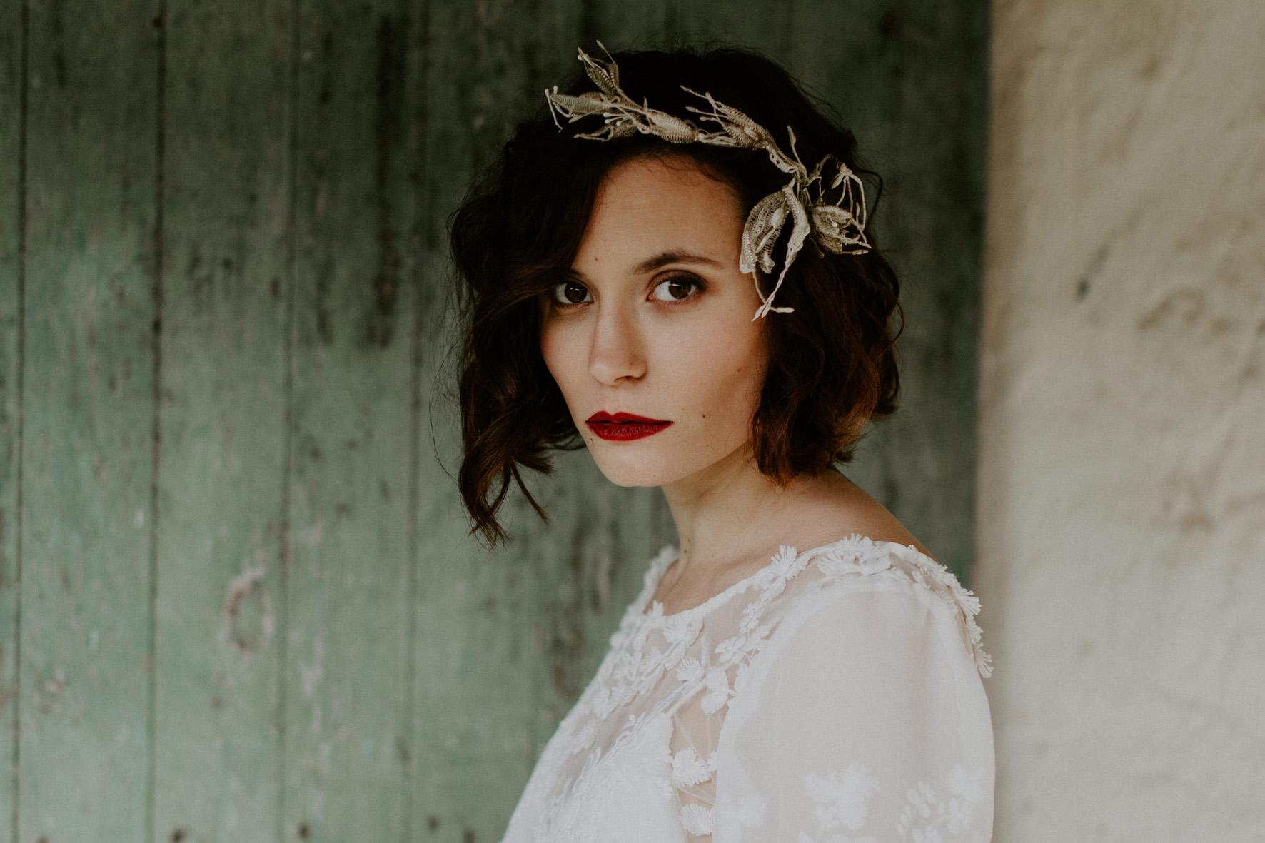 Bijoux de tête mariage Maine et Loire