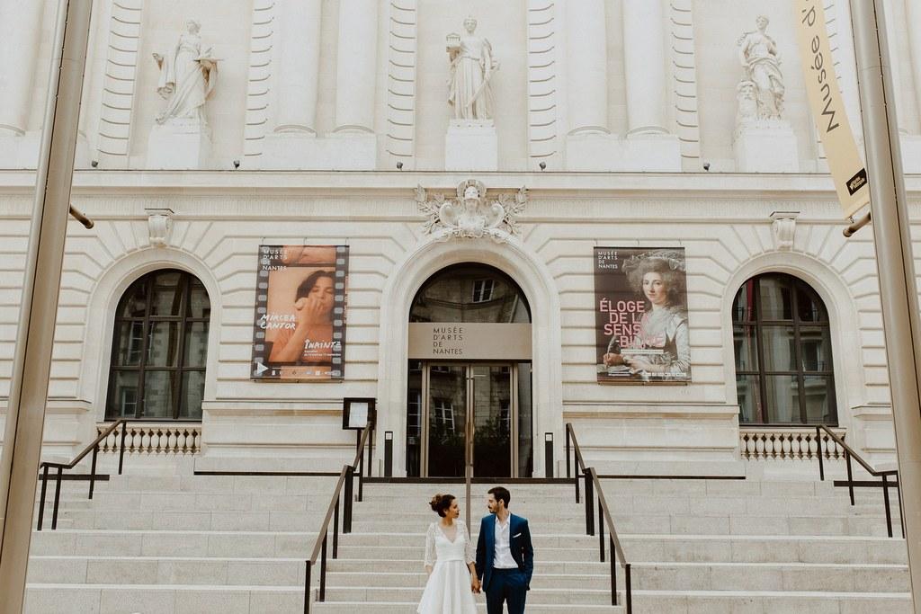Couple de maries Nantes musee histoire naturelle