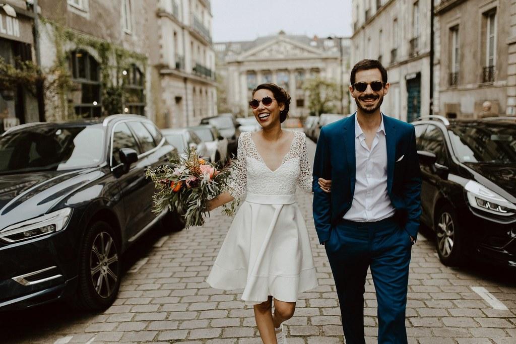 mariage pays de la Loire Nantes bouquet de mariée