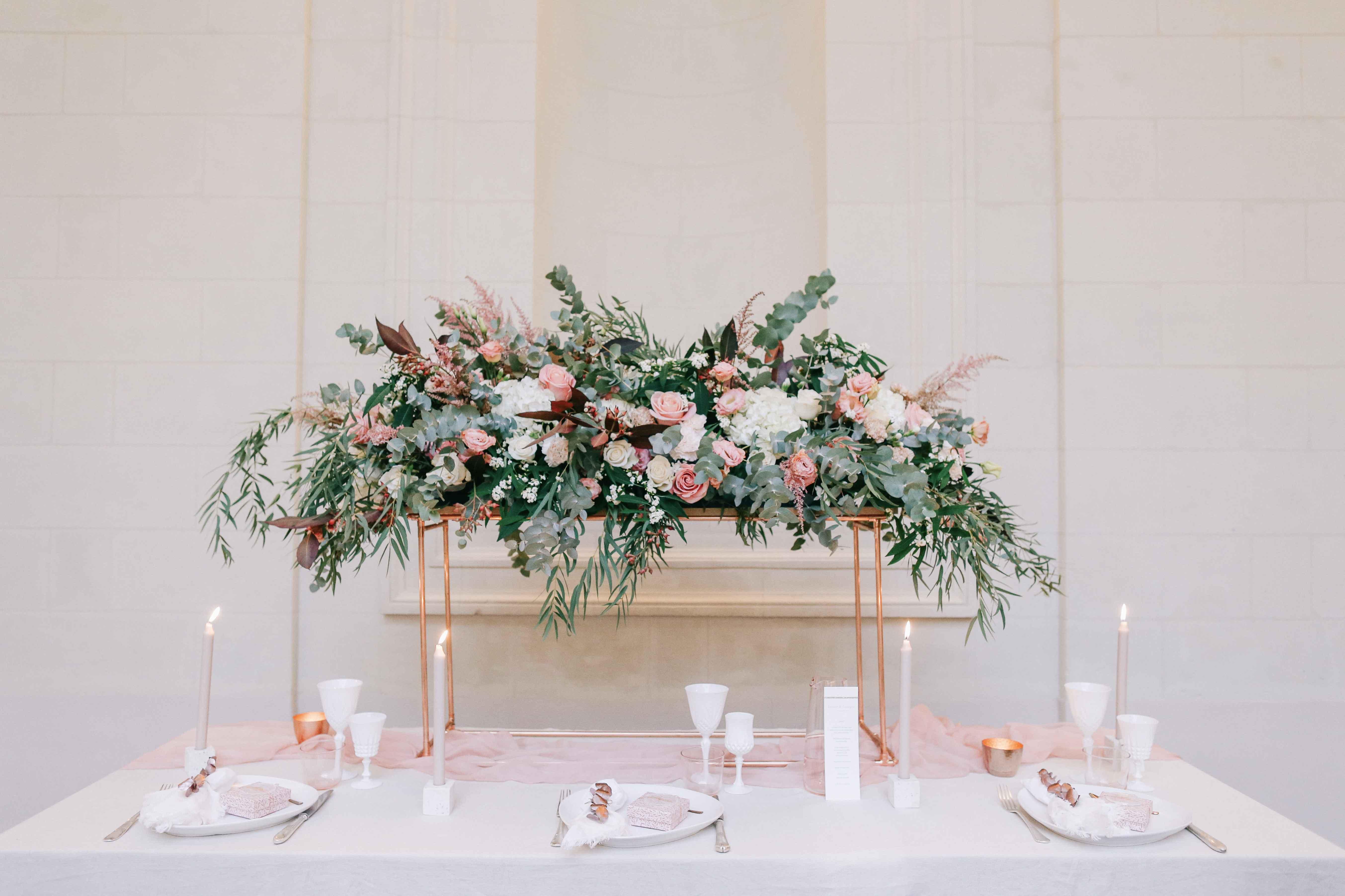 Centre de table fleuri mariage Nantes