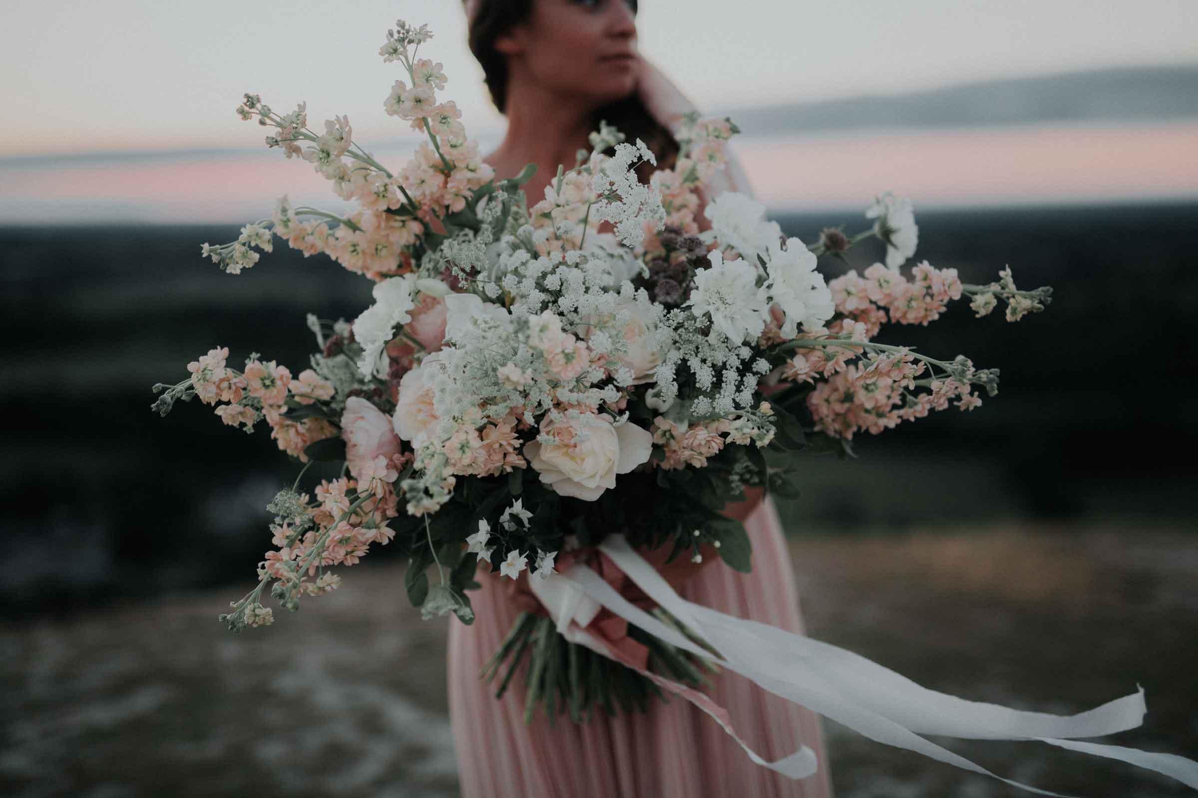 Bouquet de mariee evanescent Nantes