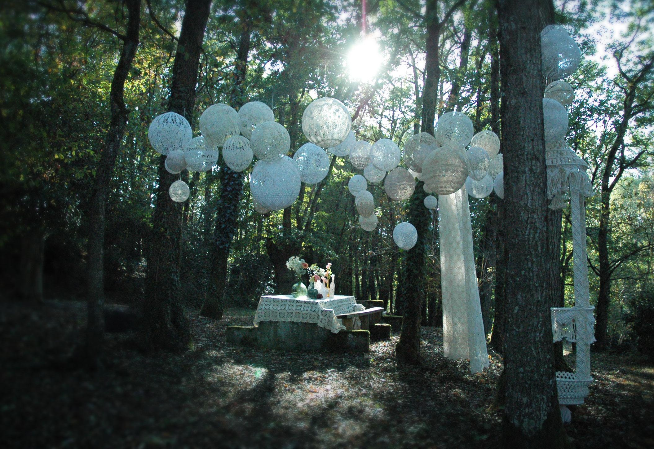 decor de mariage Loire atlantique décoration