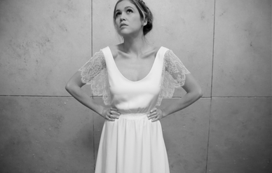 robe mariage élégante dentelle