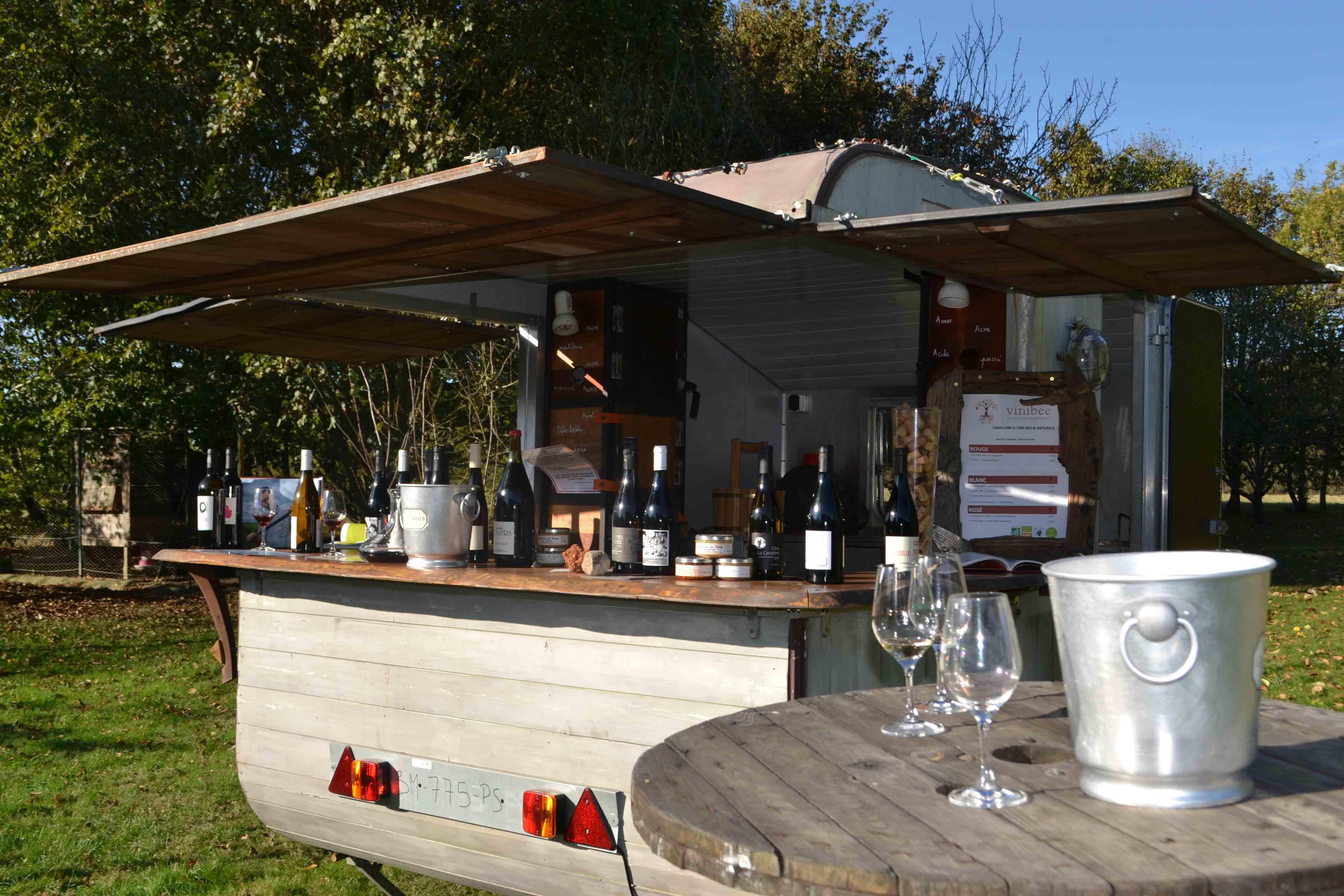 vins biologiques et naturels mariage évènements pays de la Loire