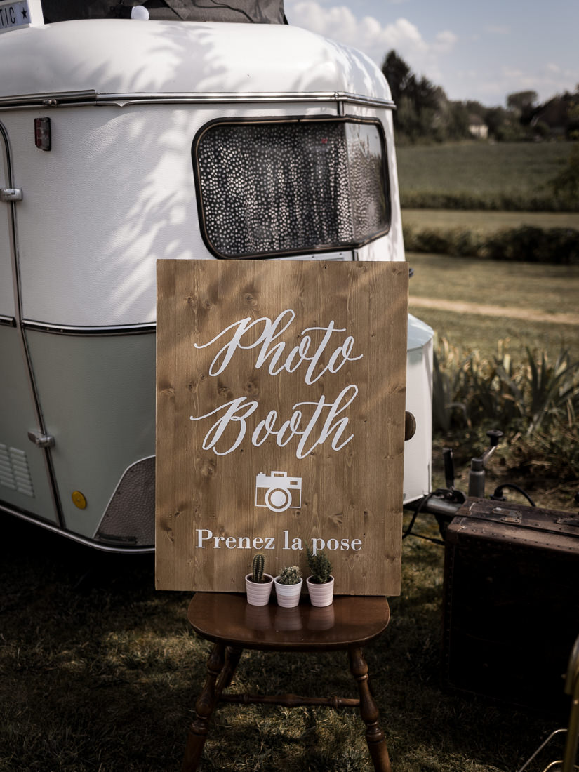location caravane Photo Booth mariage