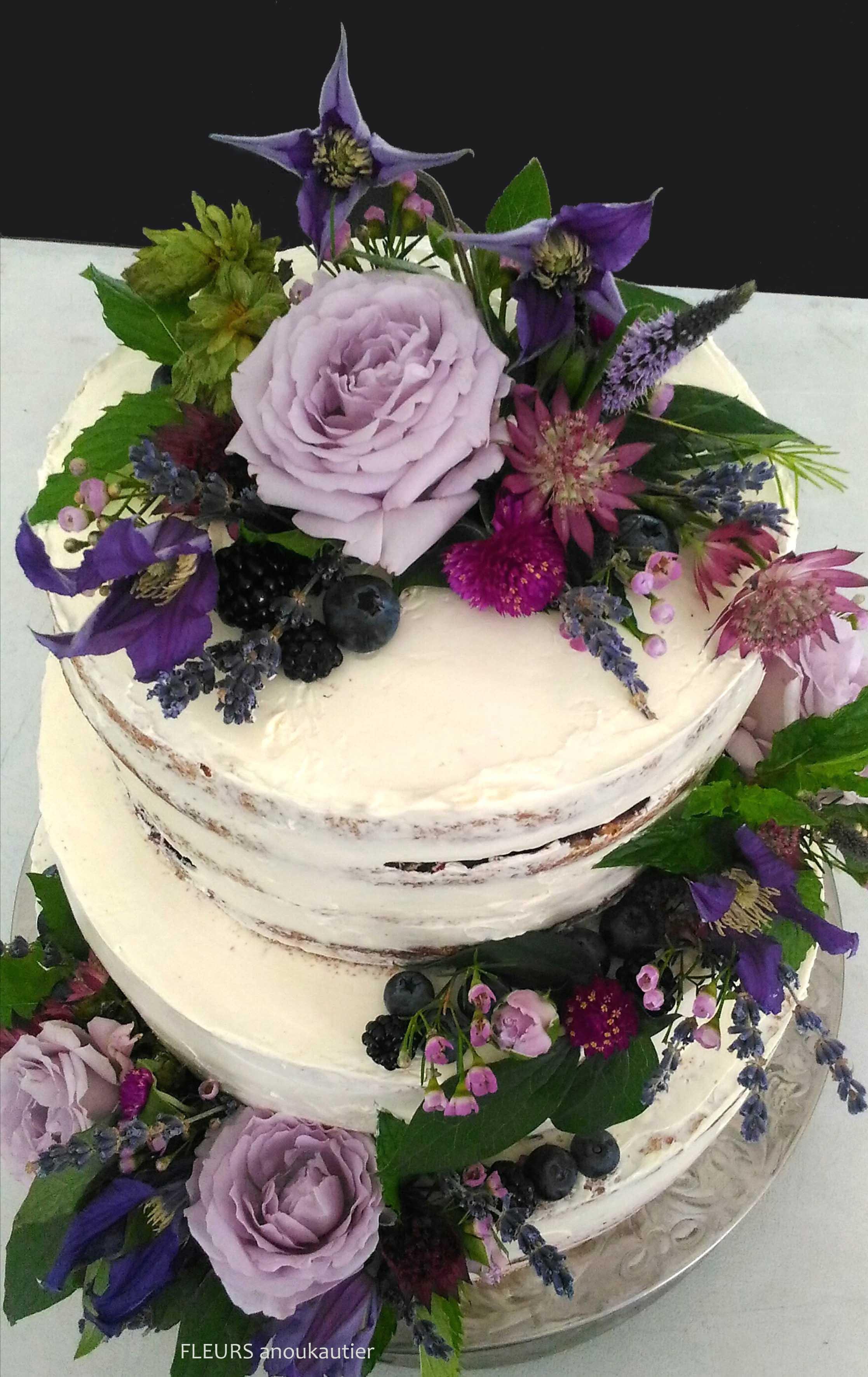 Naked cake Mariage Loire Atlantique