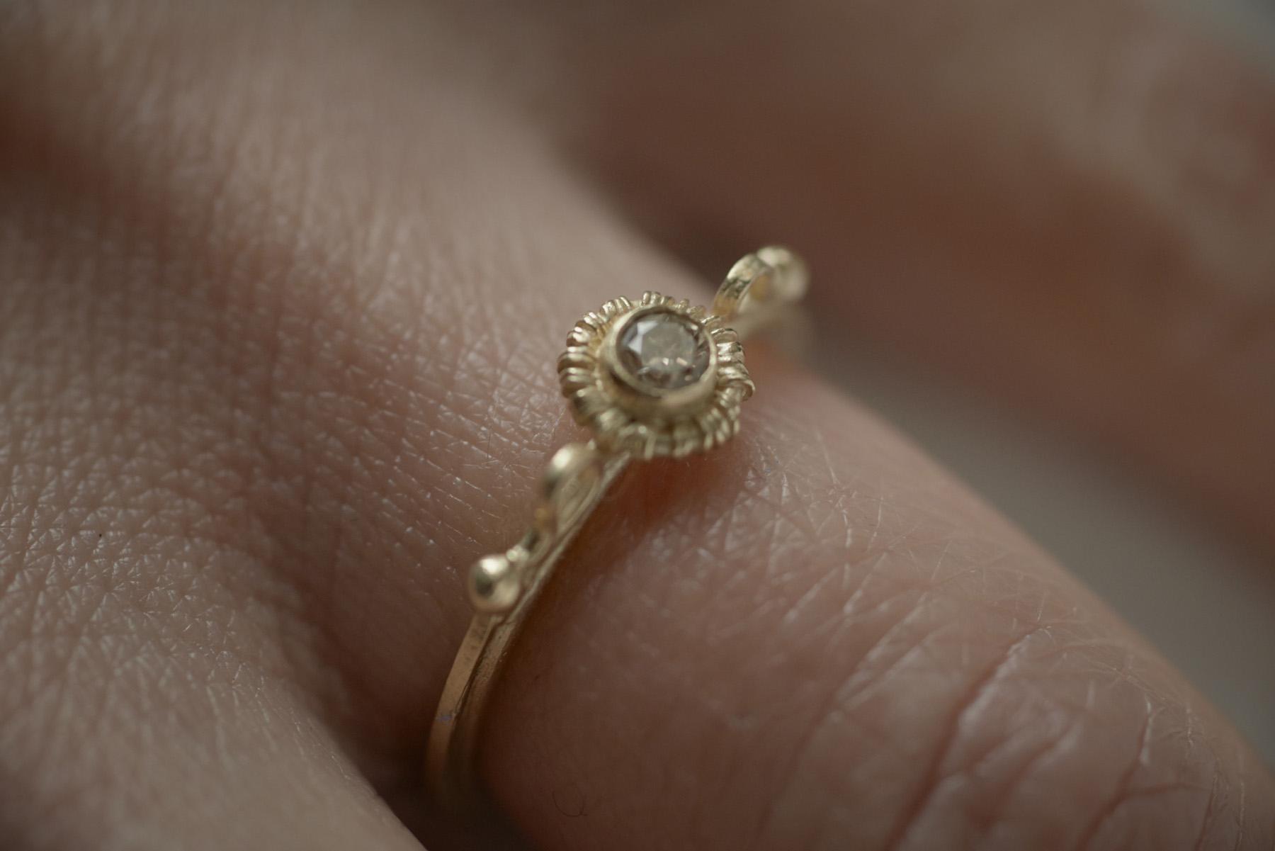 joaillerie fine bague de fiançailles mariage nantes