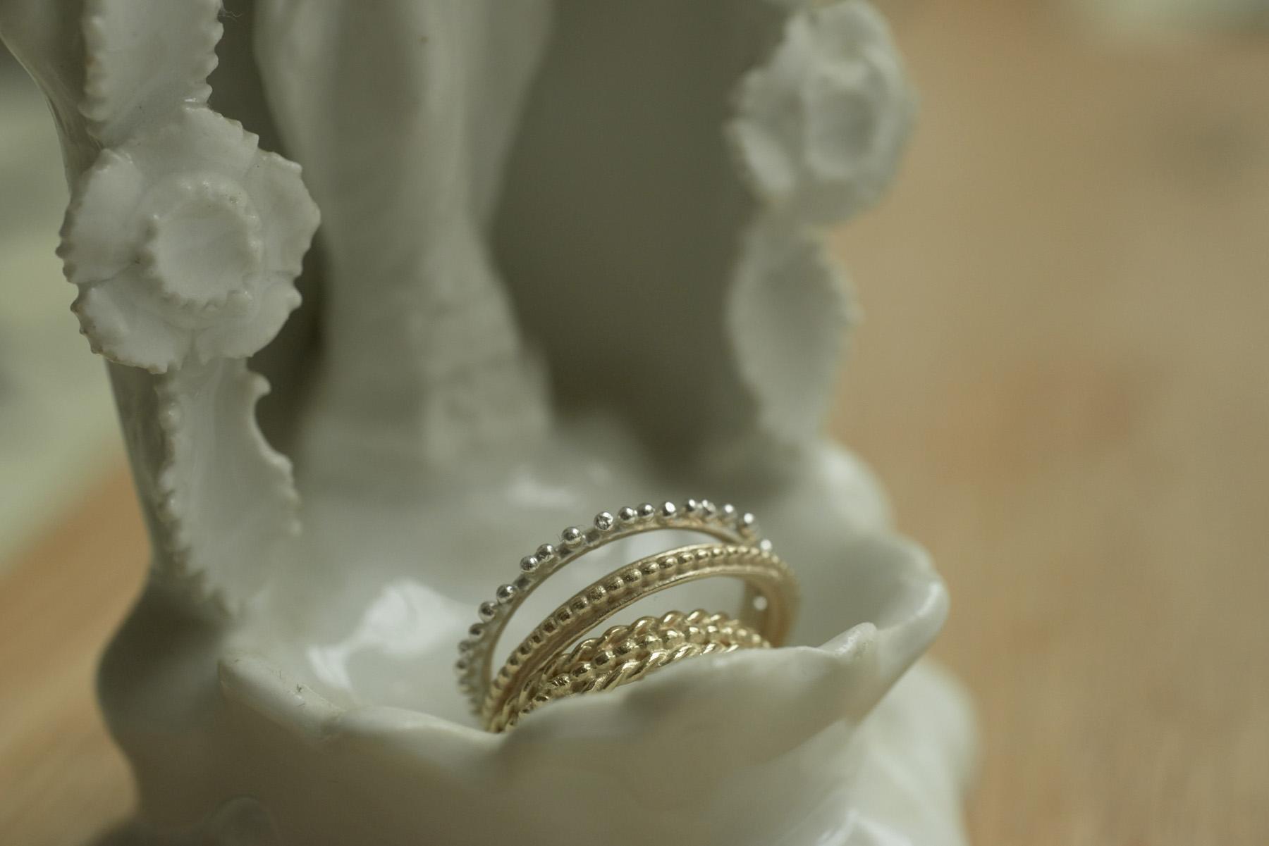 joaillerie fine bagues mariage bijoux artisanal Loire atlantique