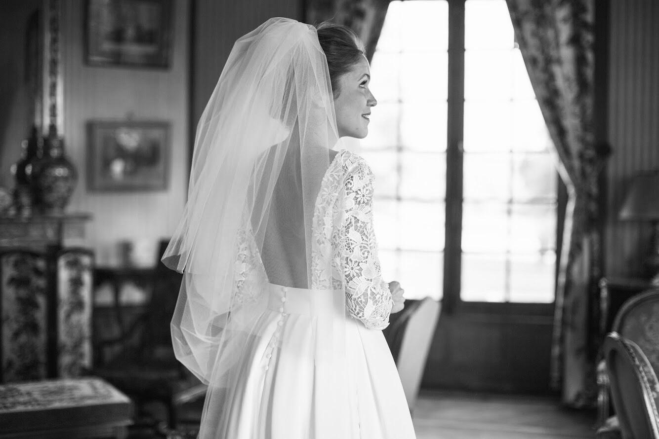 Robe mariee sur mesure Nantes