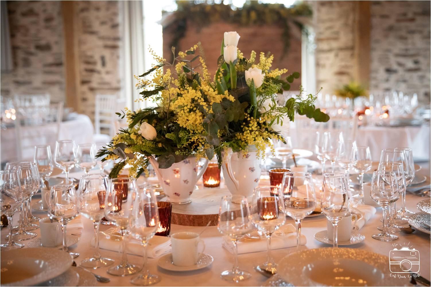 petite décoration mariage saint Nazaire