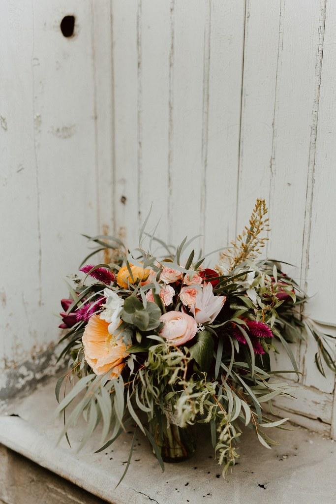 bouquet de mariee bohème mariage Nantes
