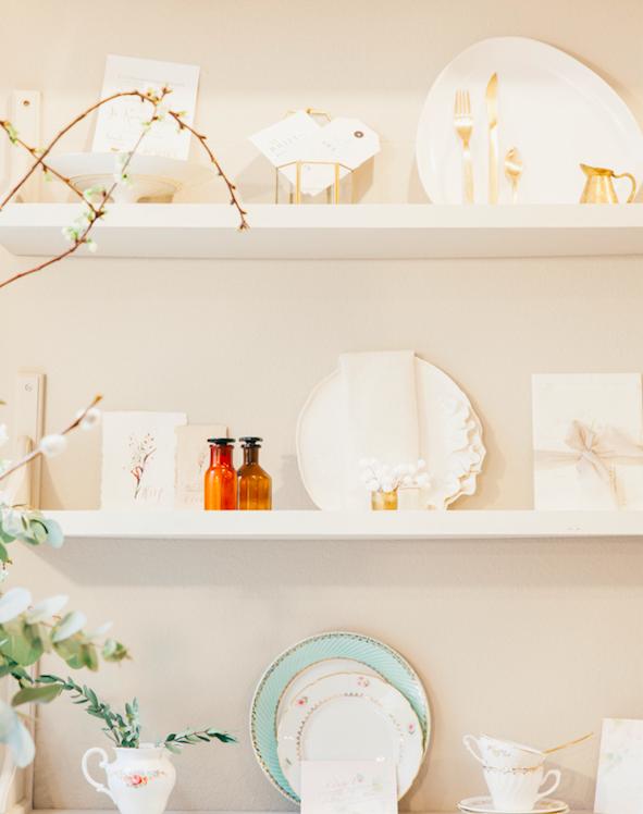 Location de vaisselle vintage et décoration mariage