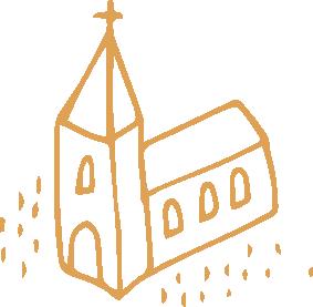 Pictogramme représentant une église