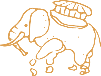 Pictogramme représentant l'éléphant de Nantes
