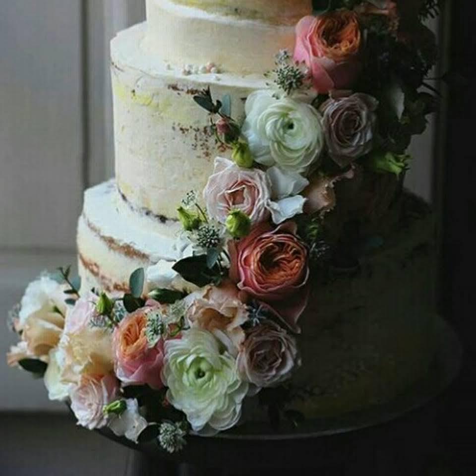 Naked cake wedding cake mariage Nantes pays de la loire gâteaux