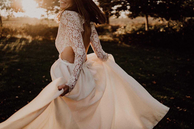 photographe mariage robe mariée