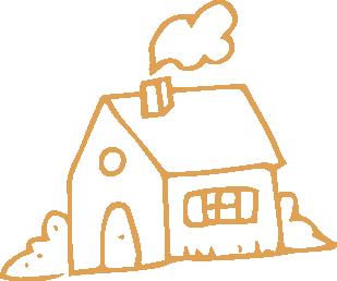 Pictogramme représentant une maison
