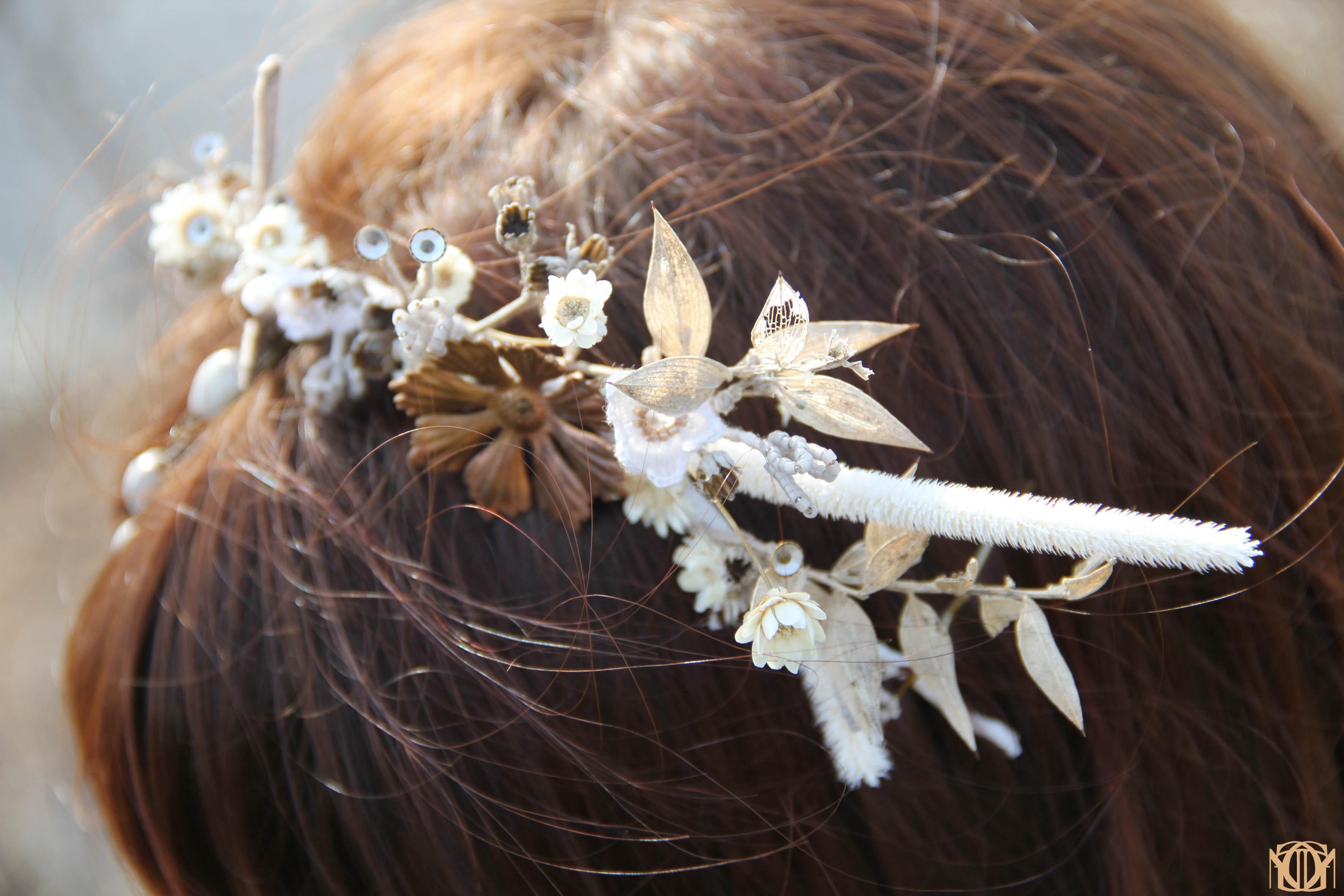 Bijoux de tête mariage pays de la Loire