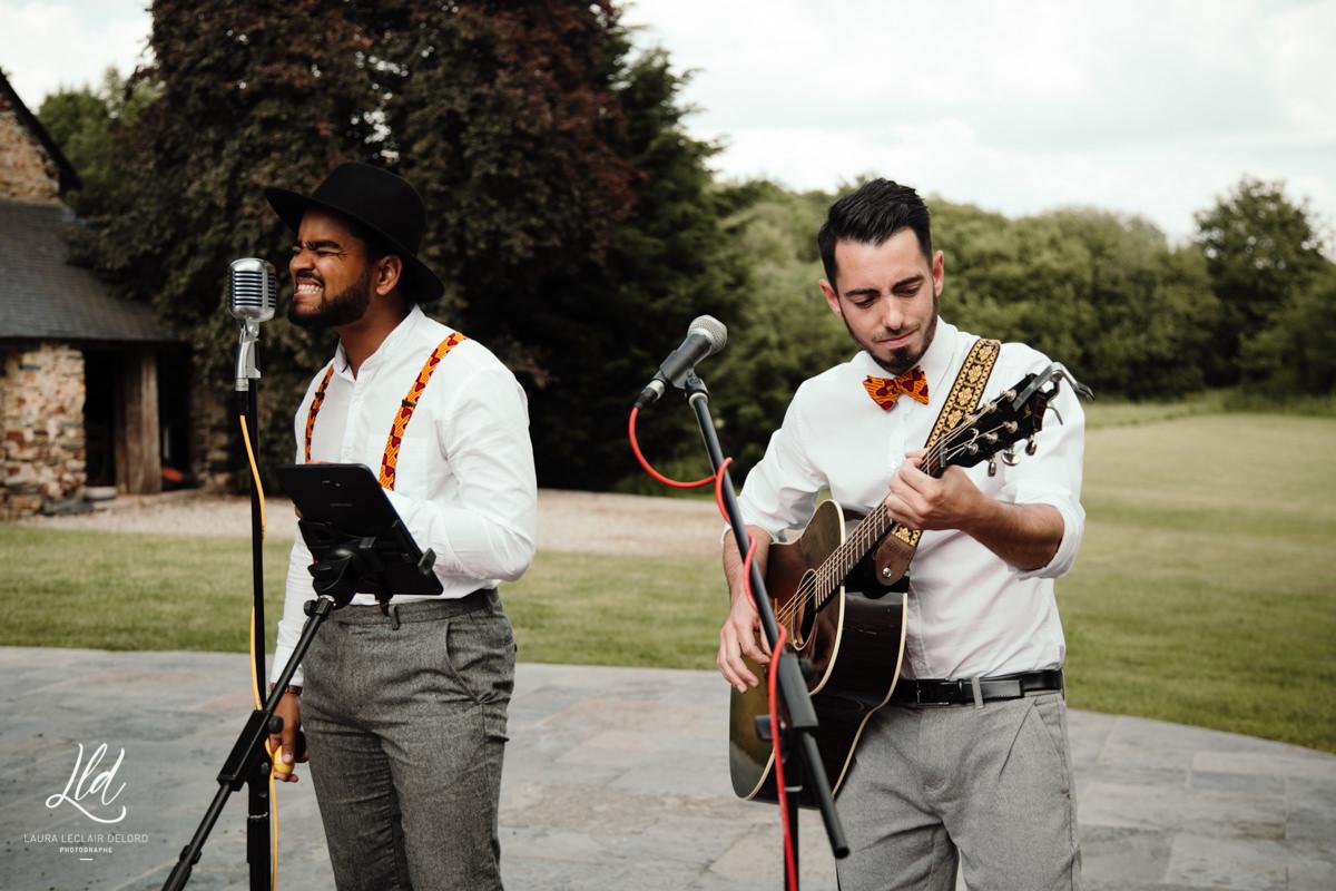 Groupe de musique live mariage Pays de Loire