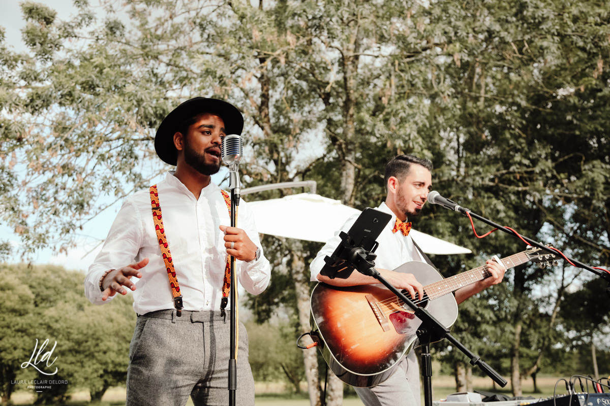 Groupe de musique live mariage Nantes