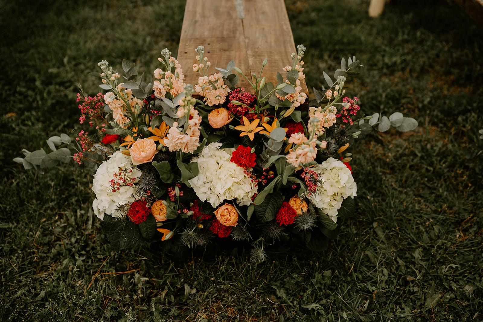 decoration florale ceremonie laïque
