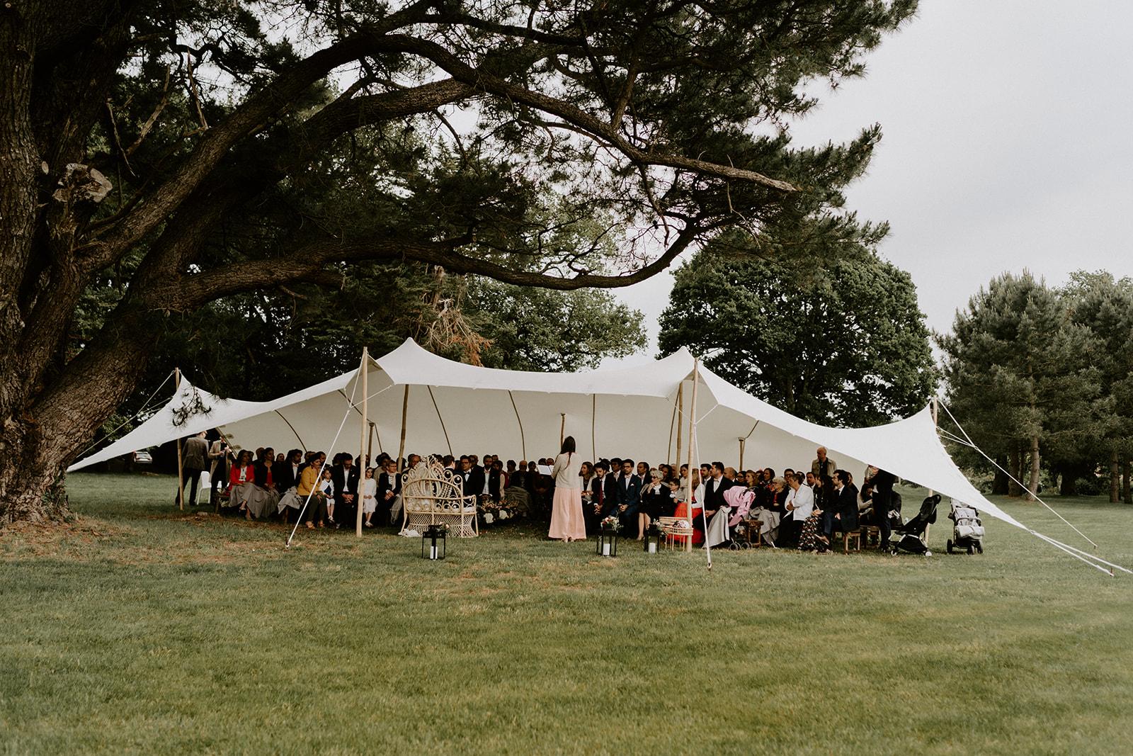 Tente stretch mariage