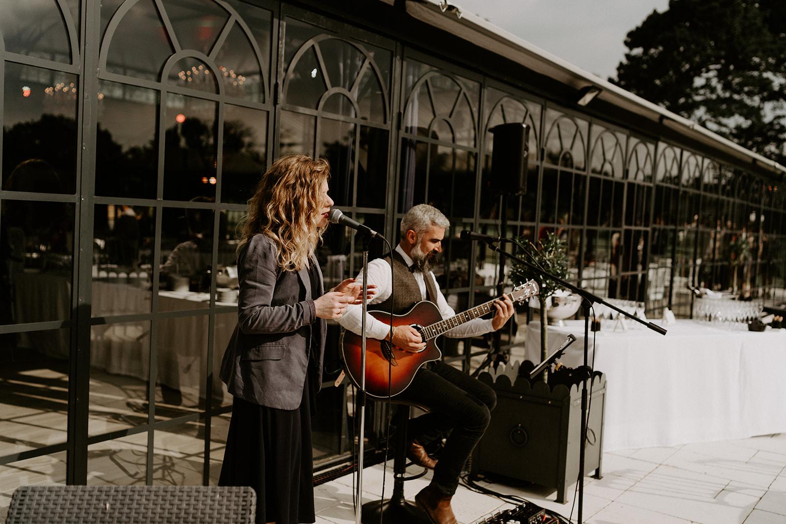 Duo musique mariage
