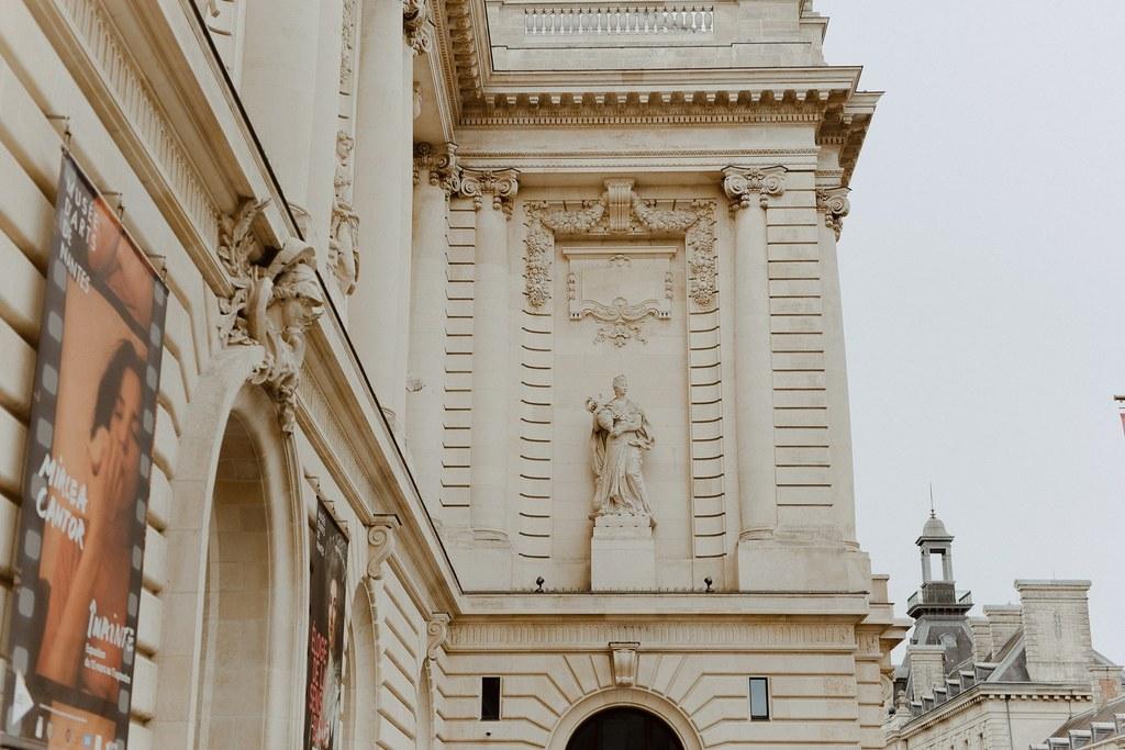 musée des beaux arts Nantes séance couple