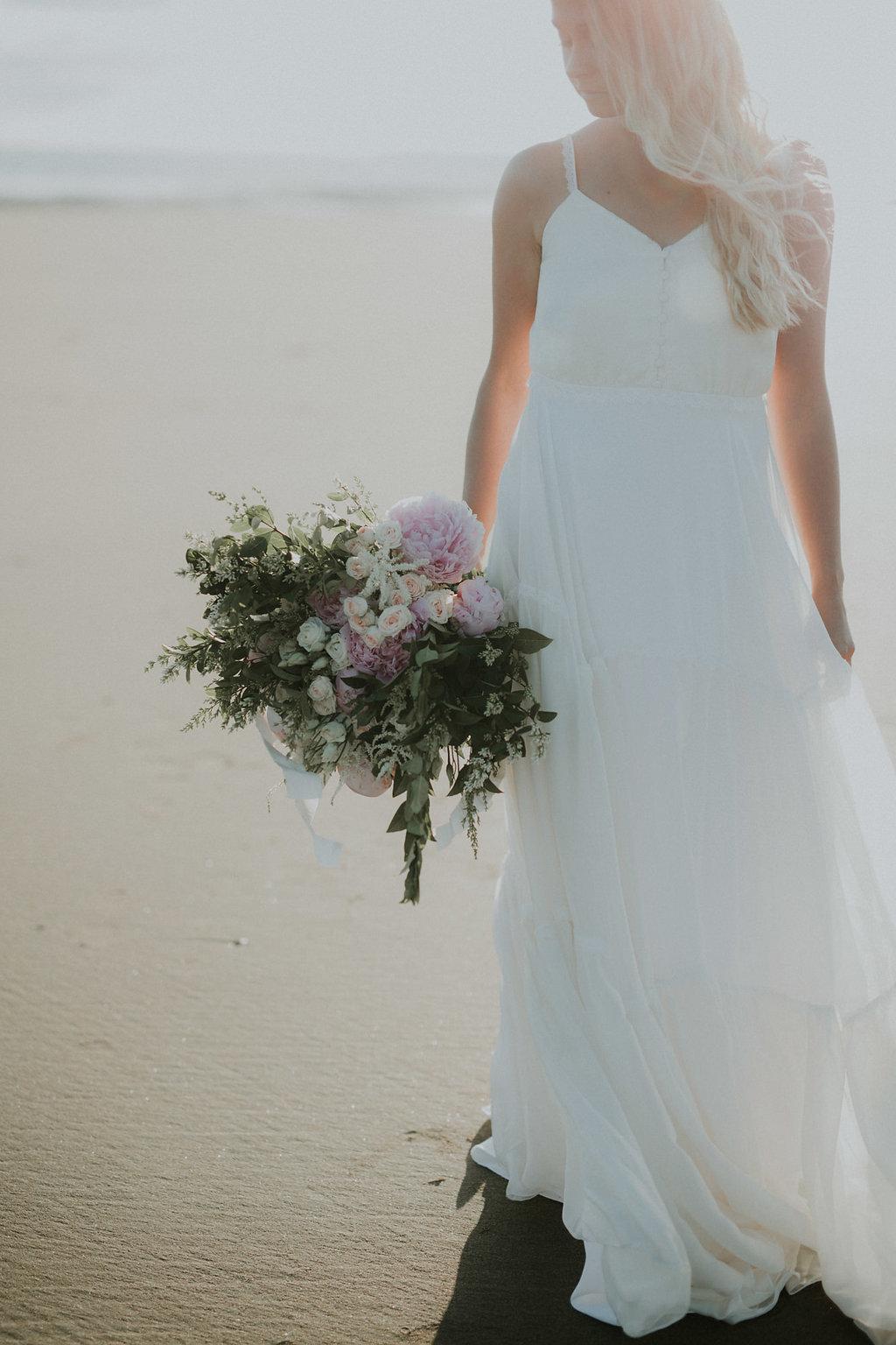 Bouquet de mariée plage