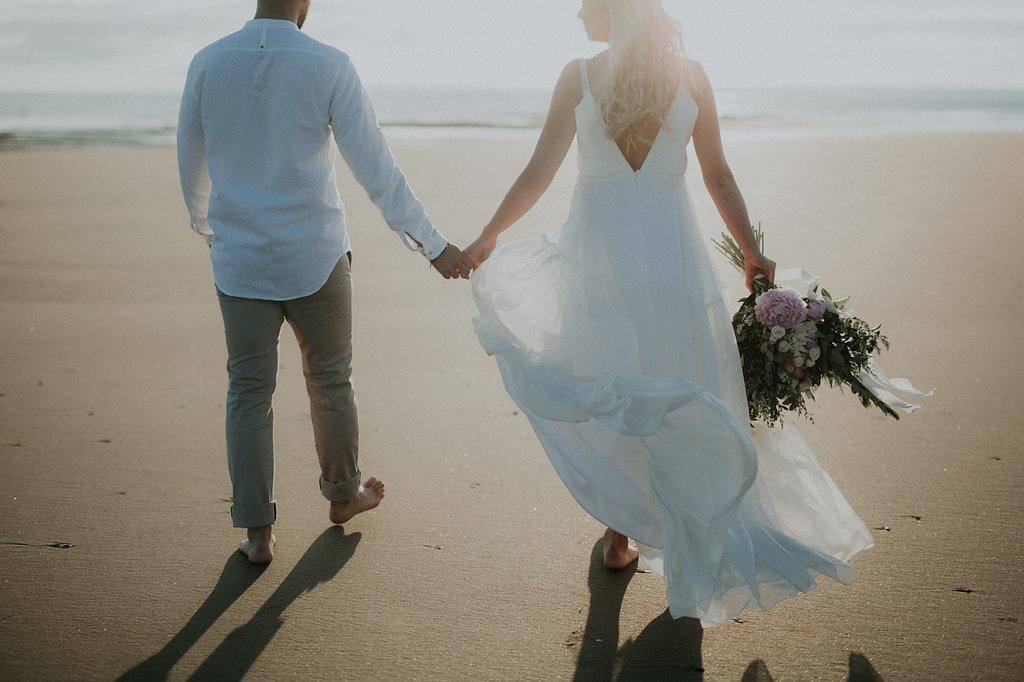 Robe de mariage plage