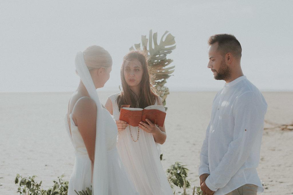 Idée de cérémonie laïque sur plage