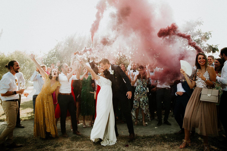 mariage bohème champêtre vendee
