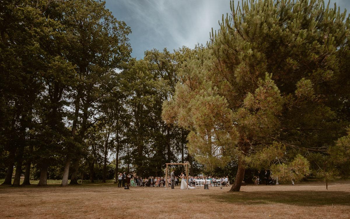 ceremonie laique château de la rousseliere