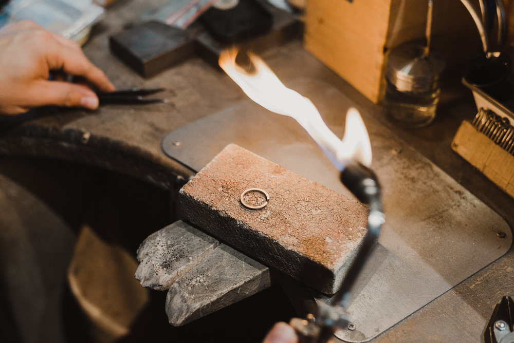 fabrication ecoresponsable bijoux mariage