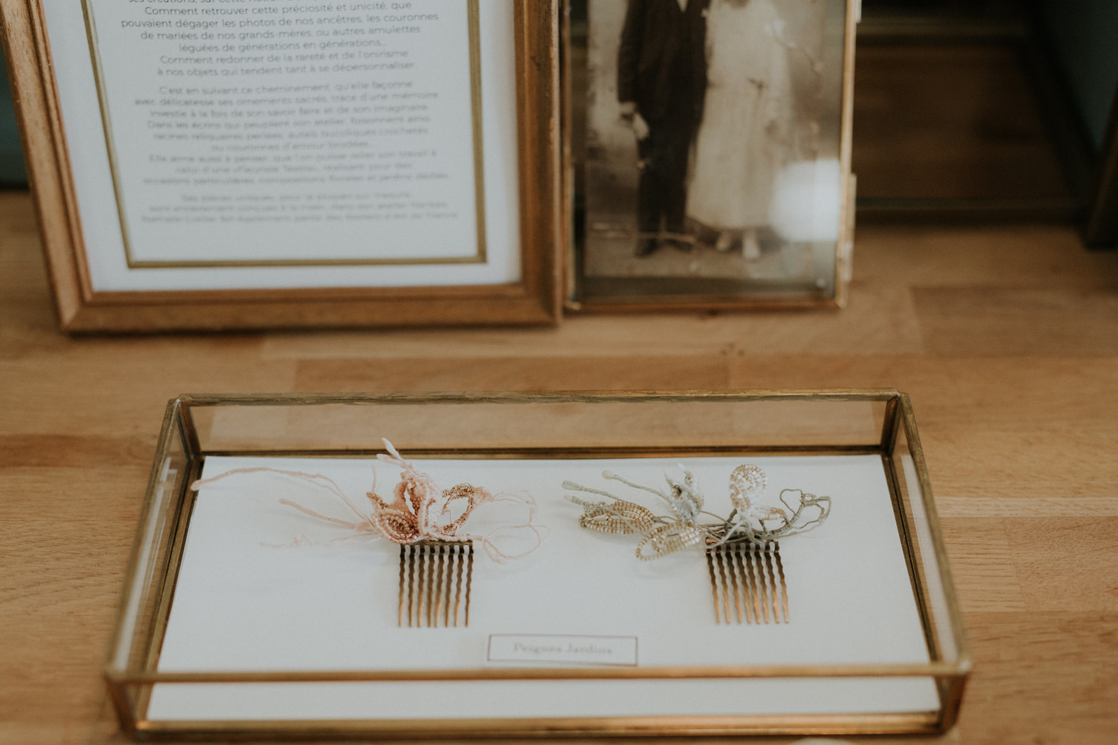 accessoires mariage broche Nantes