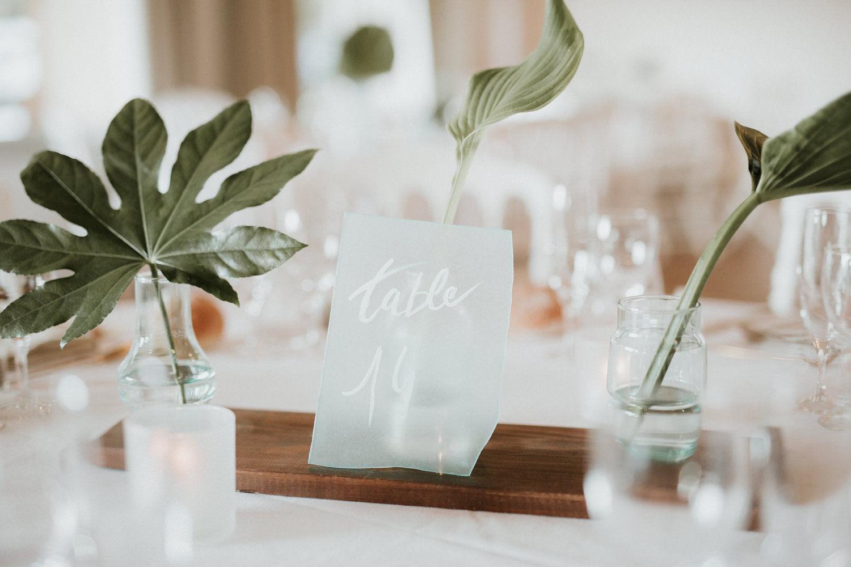 numero de table décoration mariage