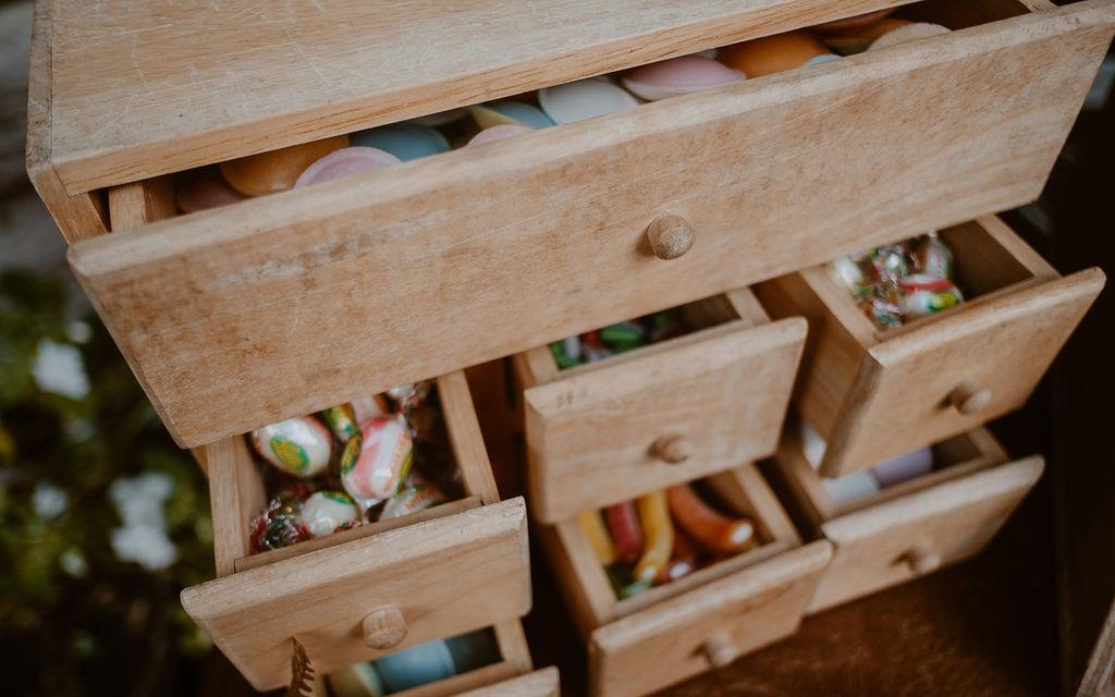 candy bar original mariage