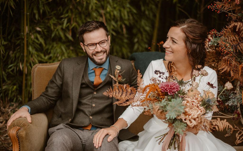 couple mariage bohème Nantes