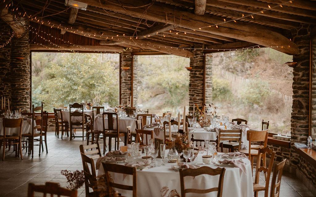décoration mariage domaine du moulin neuf