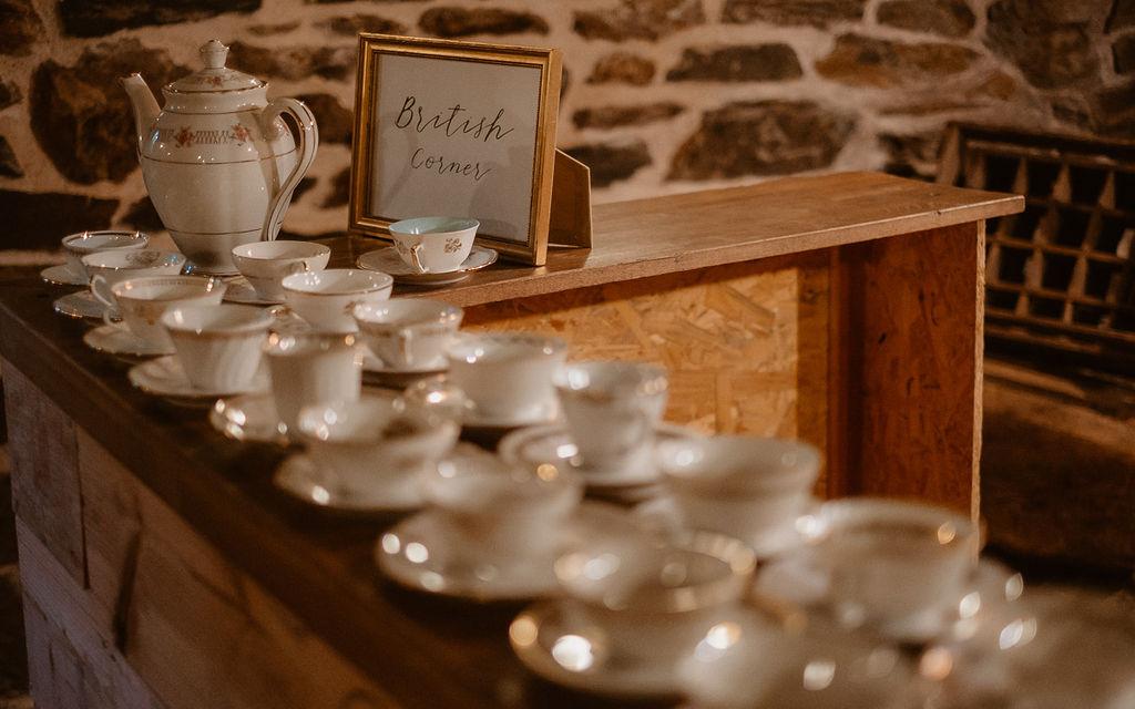 décoration mariage British