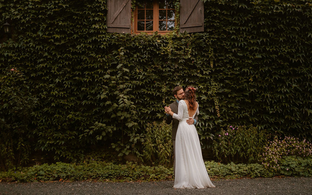 mariage automnal au domaine du moulin neuf