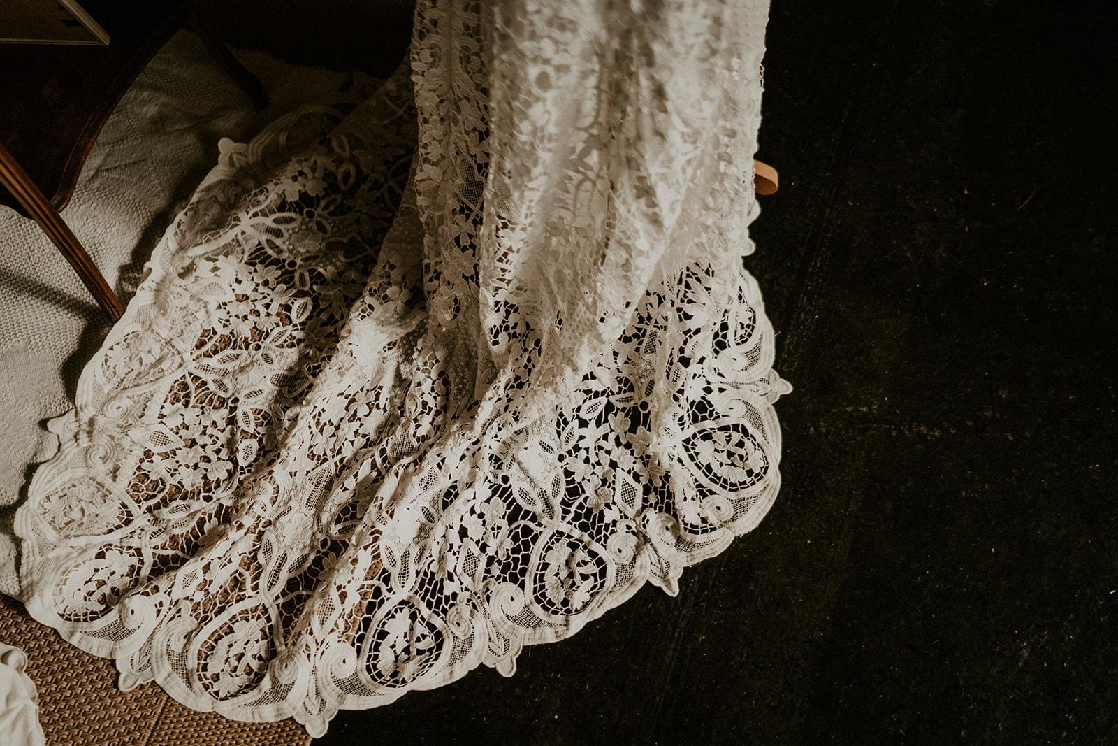 robe bohème mariage Nantes