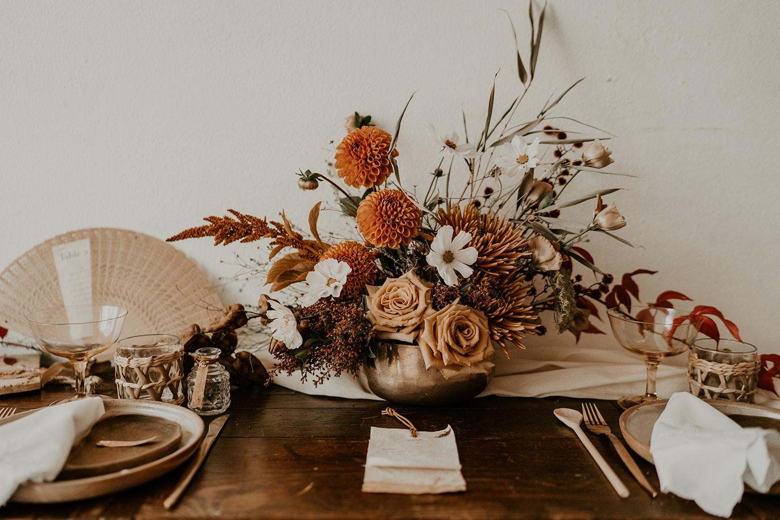 composition florale coresponsable