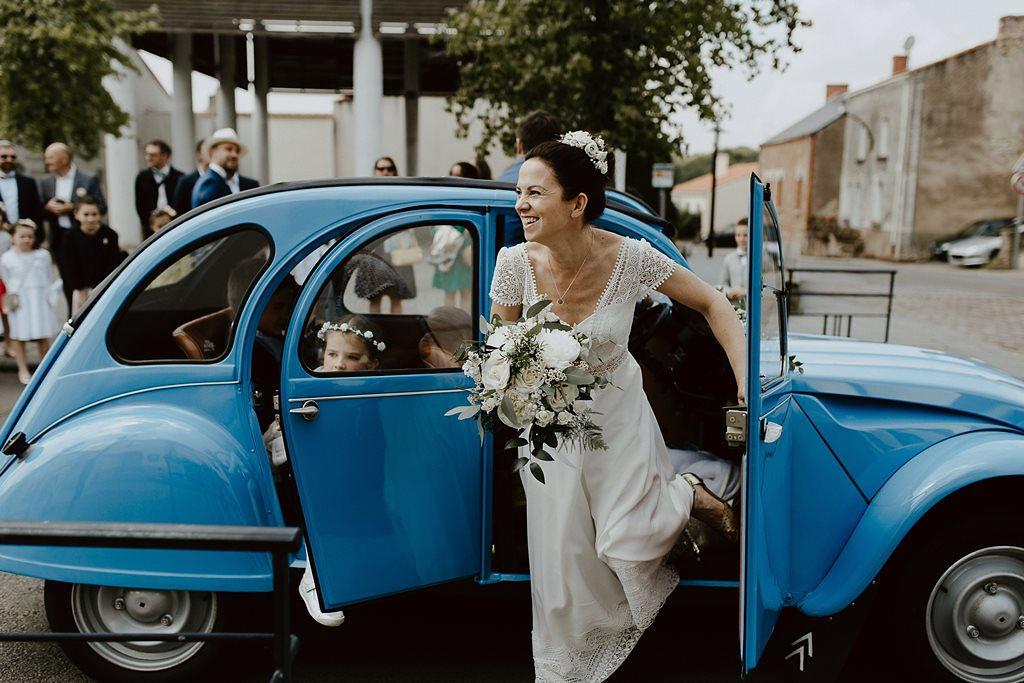 voiture vintage mariage Loire atlantique