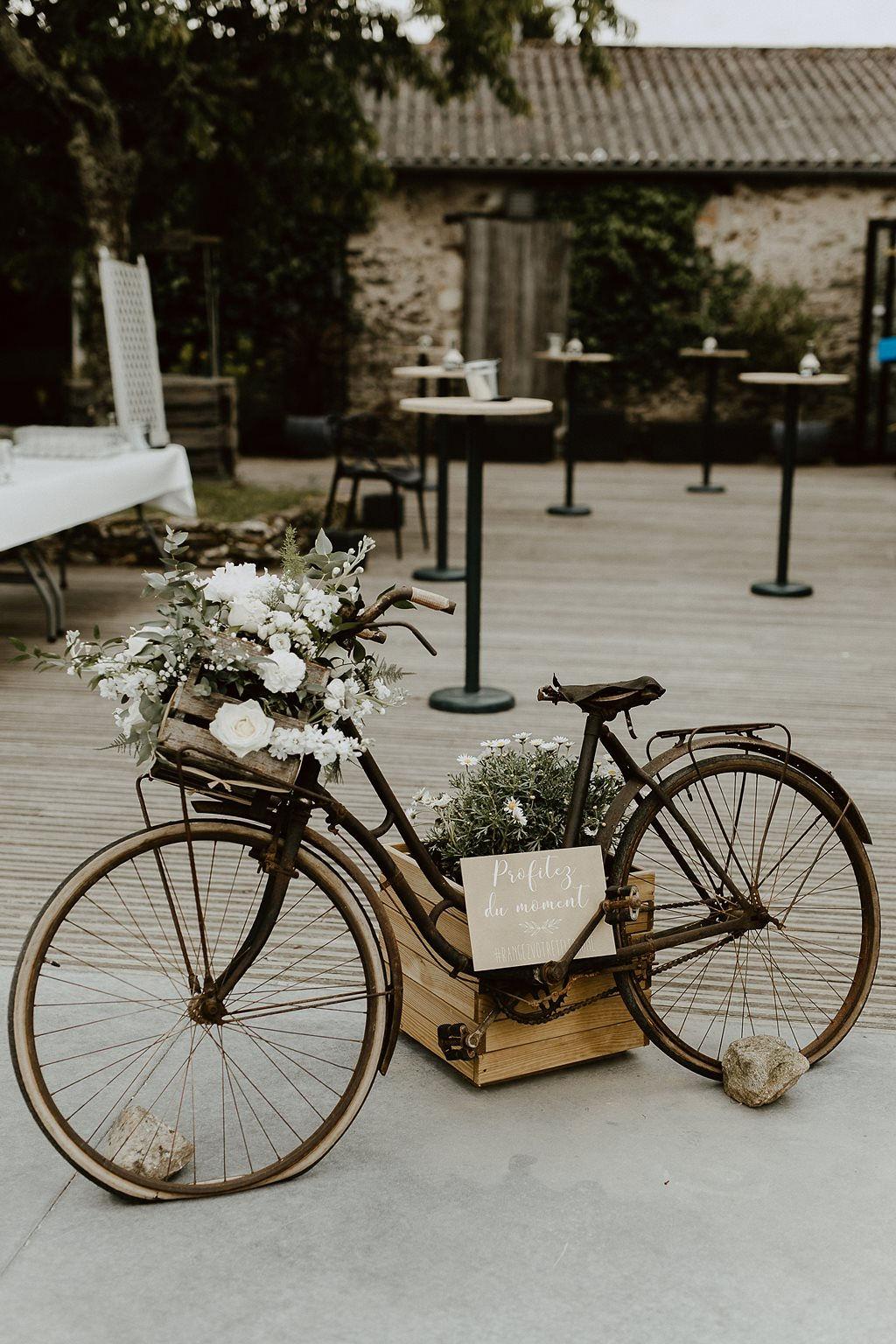 velo vintage décoration mariage Nantes