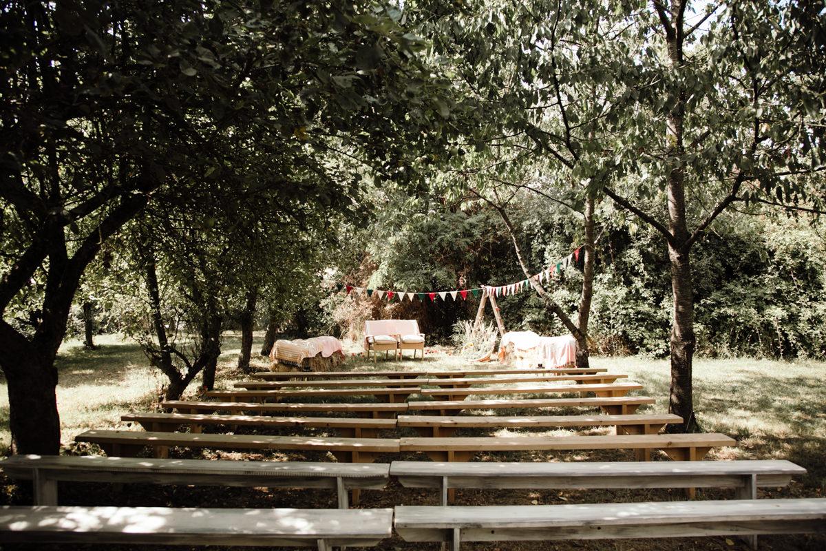 decoration ceremonie laique champetre