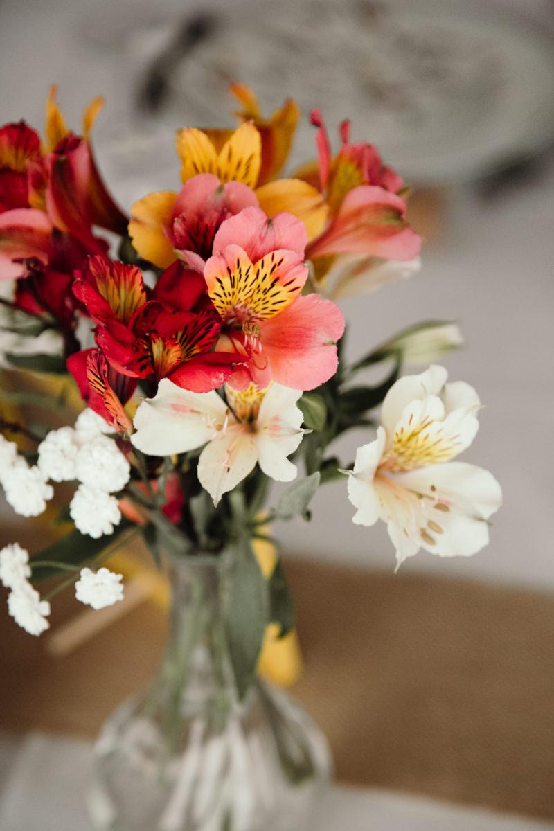 fleurs champêtres mariage