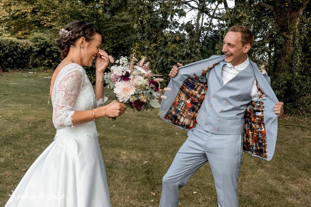 costume sur mesure mariage vendee