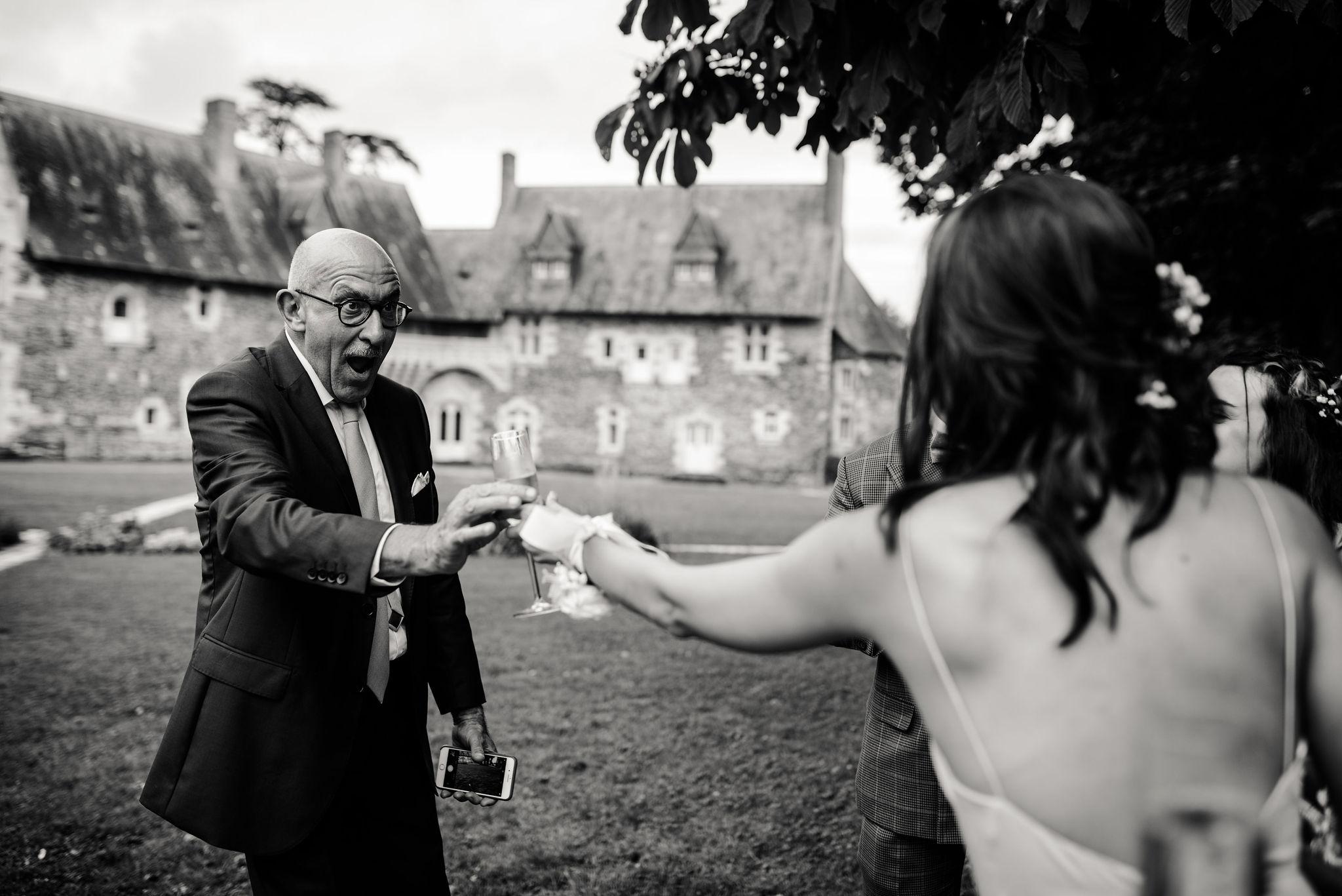 cocktail de mariage angers
