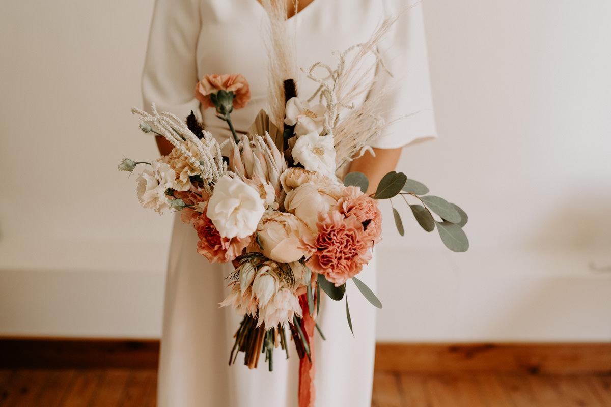 bouquet mariage boheme pays de la Loire